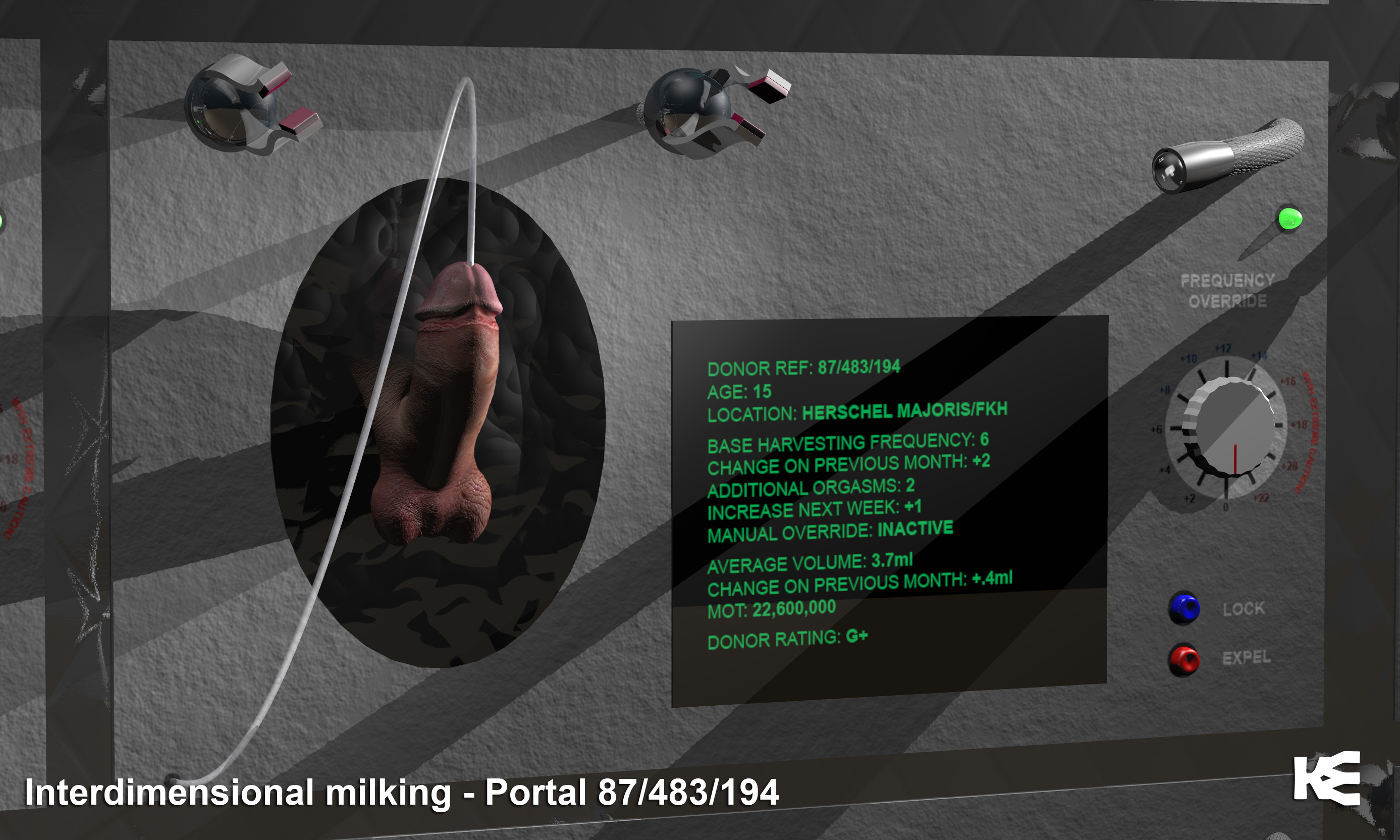 Interdimensional Milking